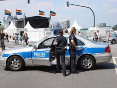 Police (individual8) Tags: germany hamburg police august 2007