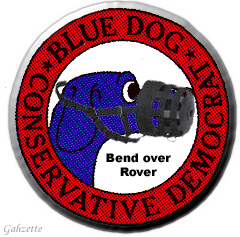 Blue Dog DINO Logo