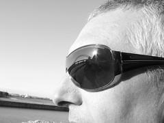 The bridge in Grahams glasses 2 (andy_sunley) Tags: bridge reflection glasses jubilee silverjubileebridge