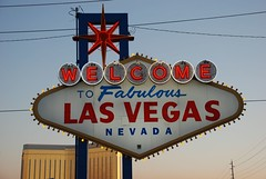 Welcome sign Las Vegas