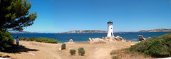 Palau, il faro - The Lighthouse (Sirbonetta) Tags: sardegna panorama lighthouse seascape faro nikon sardinia palau sardinien sardaigne gallura cerdena wonderworld stitchedpanorama sirbonetta