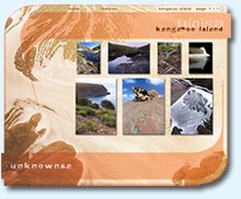 link to the u[n]sa kangaroo island feature image pages
