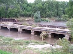 Whitewater River Flooding (MNKaren) Tags: flooding flood whitewaterriver winonacounty southeastminnesota august192007