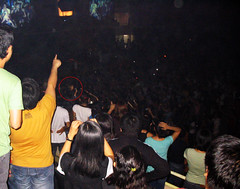 Jon Foreman from the audience in Manila