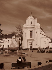 IMG_6199 (Funkyroma) Tags: church sepia architecture belarus minsk