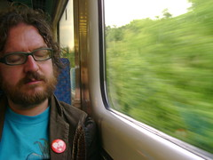 Going Home (London Permaculture) Tags: festival wales train llangollen darkmountain uncivilization
