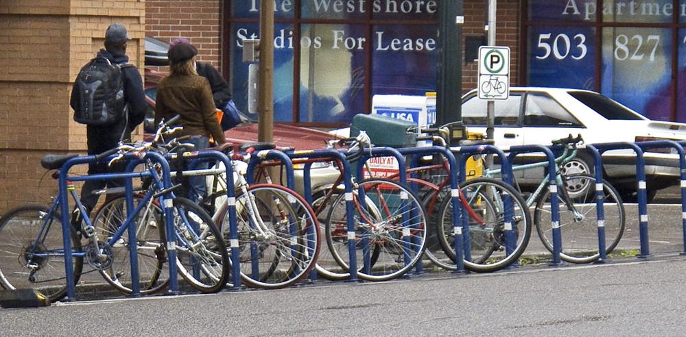 Portland bike rack