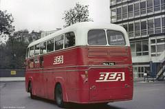 BEA Airport Coach (Lady Wulfrun) Tags: bea terminal 1966 1973 coaches heathrowairport 1953 parkroyal gloucesterroad britisheuropeanairways aecregaliv mll740 1deckbody