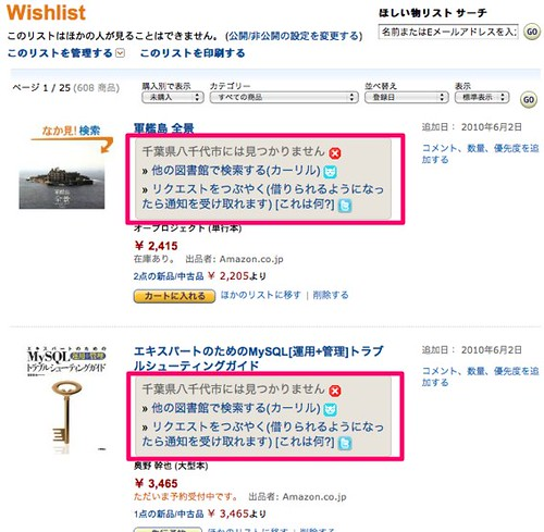 wishlist&libron