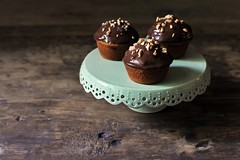 (celine steen) Tags: muffins vegan chocolate pecan