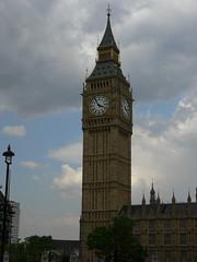 The Clock (A.Nilssen Photography) Tags: greatbritain travel london britain bigben landmark clocktower 2009 englandlondon