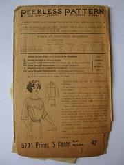 1910 - Peerless Pattern 5771