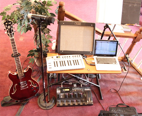 church music rig overview