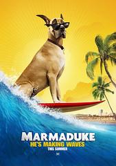 """2010最佳動畫&家庭電影海報 - Marmaduke """"Teaser Poster"""""""