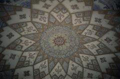 Decorated dome in garden palace (Valentin Monn) Tags: iran kashan fingarden baghefin