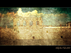 Amphitheatre (Billy-Fish) Tags: italy texture photoshop italia textures pse textured photoshopelements theunforgettablepictures billyfish
