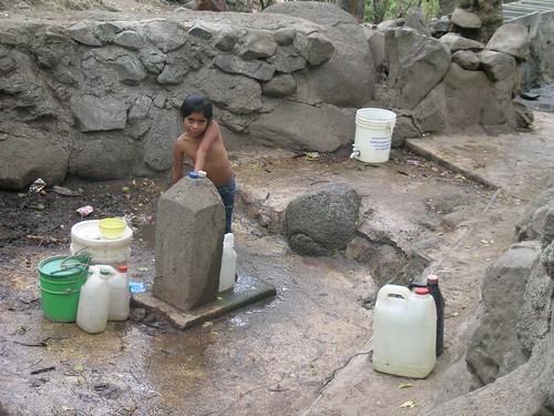 Fuente de abastecimiento de agua Zapote Oriental