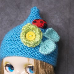 Blythe ladybrd hat