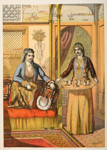 008-Mujeres armenias en su casa -The oriental álbum 1862- J.H. Van Lennep