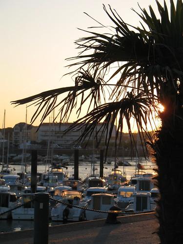 Lever de Soleil sur le Port de Plaisance