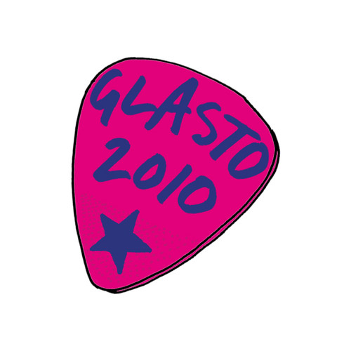 Glasto Plectrum