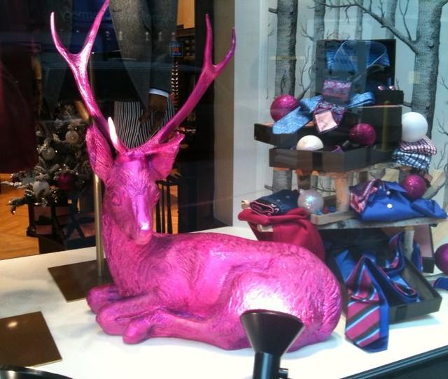 The Pink Reindeer