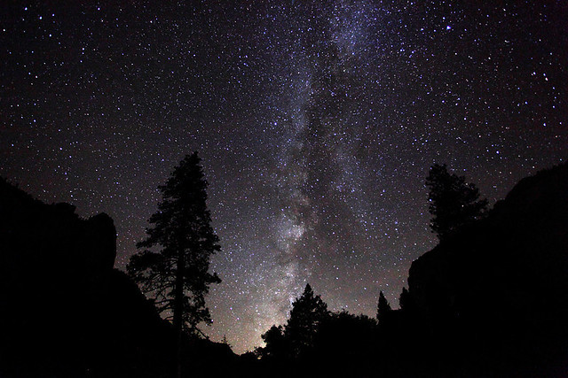 MilkyWay over Yosemite