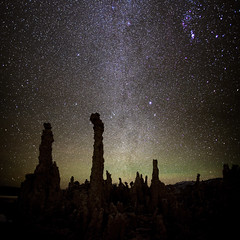East Facing Milky Way at Mono Lake, California (photofanman) Tags: california ca lake nature silhouette canon stars mono stitch south wideangle milkyway tufe vertorama 5dii