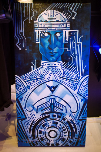 Tron painting