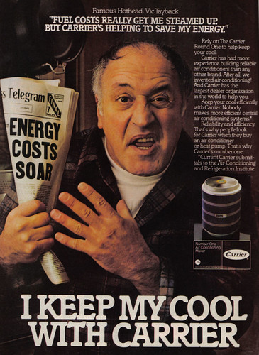 Vintage Ad #244 - Mel Keeps His Cool
