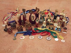 My medals and trophies - by Tim Riley 澳大利亚
