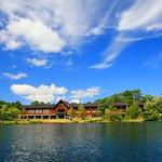 Urabandai Lake and Hotel
