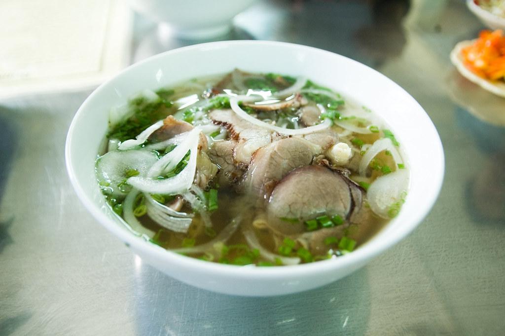 Pho Bo at Pahm Ngu Lao, Hanoi