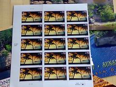 Forbrugertest, selvklæbende frimærker