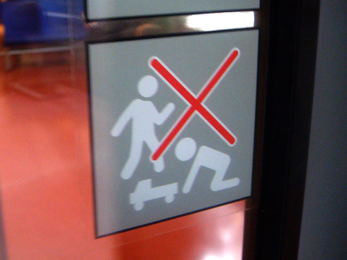 no blow jobs for people standing on toy trucks -- sign door blow hole meat sorry dontdothings things oralsex axlrose sorryidonteatmeat gloryhole