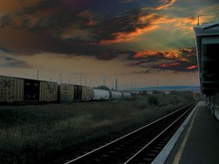 160-Car Train (ash2276) Tags: sunset sky ontario canada cars car station cn train track dusk ashley go ad platform tracks railway canadian whitby freight canadiannational gostation on 160 ald canadianphotographer scoopt ashleyjeff torontophotographer abigfave ash2276 gotrainstation ash2275 ashleyduffus ashleydufus excapture canadianphotogpraher ashleysphotography ald ashleysphotographycom ashleysphotoscom ashleylduffus wwwashleysphotoscom