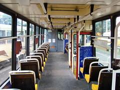 Inside 105Na tram. (Metalchem) Tags: tram poland polska polish polen katowice tramway gop strassenbahn tramwaj pkt silesia kzk konstal torowisko 105na