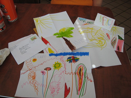 Cards from little friends