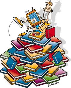 - Mil livros grátis? Eu quero...