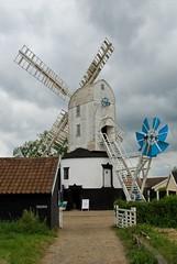 Saxtead Green Post Mill (scuba_dooba) Tags: green english heritage mill windmill suffolk post working saxtead saxteadgreenpostmill