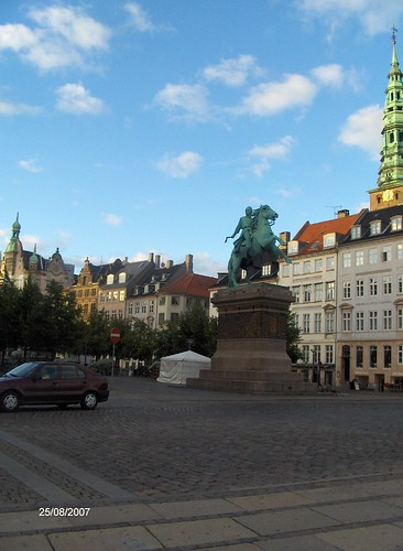The Absalon Statue, Højbro Square, Copenhagen