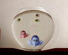 day 270~red fish blue fish (briemarie) Tags: blue fish glass bigeyes bowl ps seuss selfpotrait redfish cwd uglyfish 365days orisitme cwd323 cwdwk32 phototshopwasnotbeingfriendlytoday itdidntwanttoworkwithme damncomputerstillisnthookedup iwillnotbemovingagainforaverylongtime ileftwebsbetweenmyfingers buttheyjustdontlookquiteright