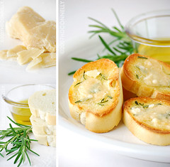 (hd connelly) Tags: stilllife food cheese bread hdconnelly interestingness tasty explore rosemary parmesan seasalt