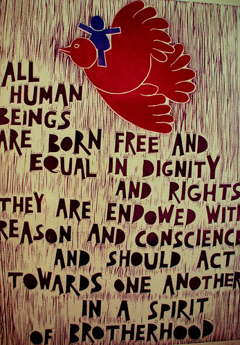 Universal Declaration of Human Rights turns 60. Click image for source.