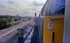 Window hanging (Fray Bentos) Tags: train locomotive trainspotting dieselhydraulic class52 gricer d1049westernmonarch