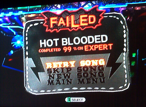 guitar hero woes