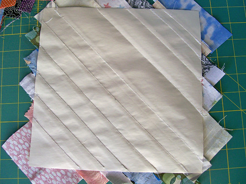 paper back string quilt block