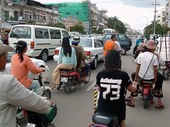 trafico de phnom penh