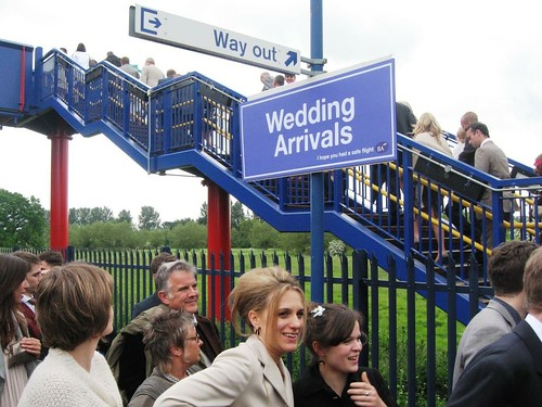 King's Sutton Station - Wedding Arrivals, BA Wedding Express