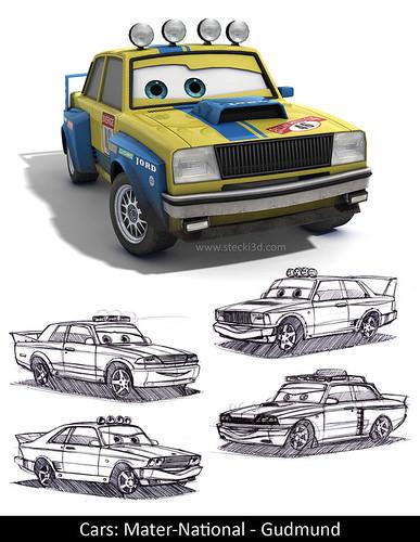 disney pixar cars mater. Pixar Cars model turntable